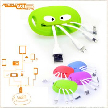 USB Multiple Data Cable/Crab Shape
