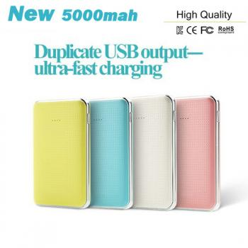 Hot Dual USB 5000mah