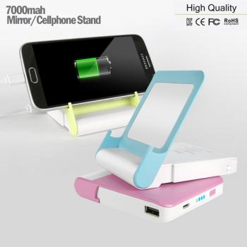 7000mah/ Mirror / Phone Stand