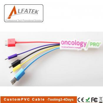 custom pvc charge cable