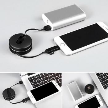 2 in 1 usb cable box