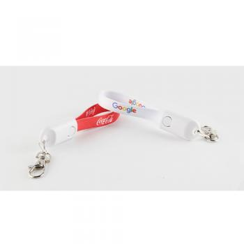 lanyard keychain charge cable