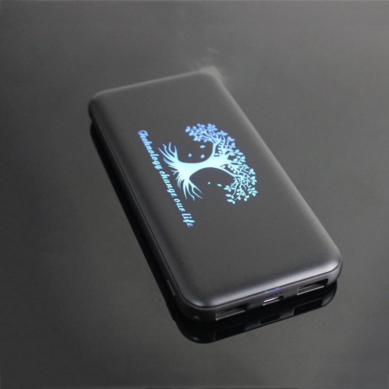 light up 10000mah charger