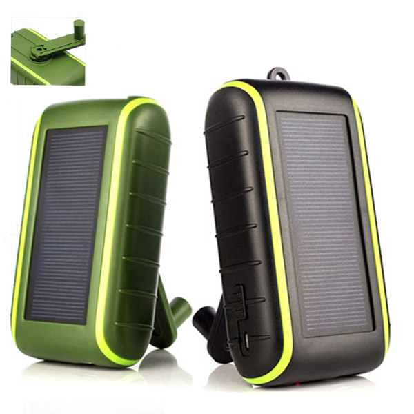 Hand Crank & Solar Charger